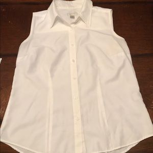 Christopher & Banks white button down shirt.